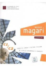 Nuovo Magari WERSJA CYFROWA C1/C2 podręcznik wersja dla nauczyciela