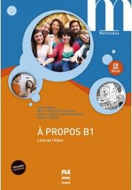 A propos B1 podręcznik + płyta MP3 ed. 2017