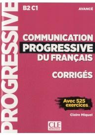 Communication progressive avance 3ed klucz