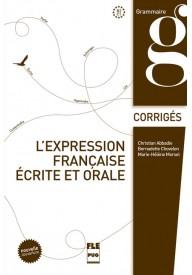 Expression francaise ecrite et orale B2-C1 klucz edycja 2015