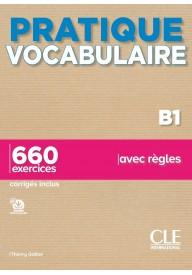 Pratique Vocabulaire B1 podręcznik + klucz