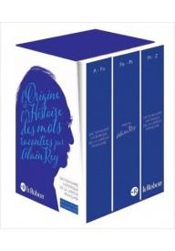 Dictionnaire Historique de la Langue Francaise 3 volumes
