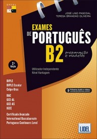 Exames de portugues B2 preparacao e modelos książka + zawartość online