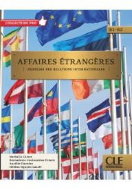 Affaires etrangeres podręcznik + CD B1/B2
