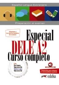 Especial DELE A2 curso completo książka ed.2020