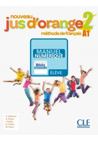 Jus d'orange nouveau WERSJA CYFROWA 2 A1.2 podręcznik