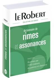 Robert dictionnaire et Rimes & Assonances