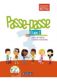 Passe-Passe 3 etape 2 podręcznik + ćwiczenia + CD A2.1