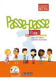 Passe-Passe 3 etape 1 podręcznik + ćwiczenia + CD A2.1