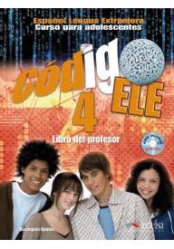Codigo ELE 4 przewodnik metodyczny + CD audio