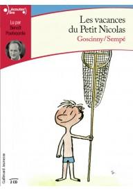 Petit Nicolas: Vacances Du Petit Nicolas Audiobook