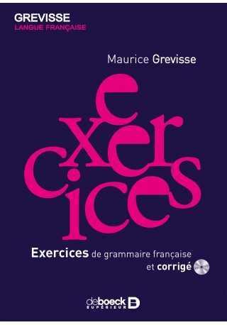 Exercices de grammaire francais et corrige + płyta CD