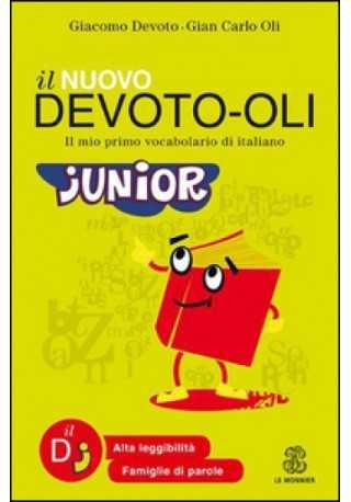Devoto-Oli junior. Il mio primo vocabolario di italiano książka