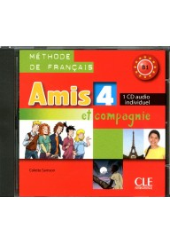 Amis et compagnie 4 płyta CD audio do ćwiczeń