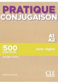 Pratique Conjugaison A1/A2 podręcznik + klucz