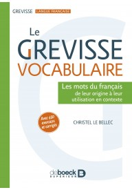 Grevisse vocabulaire Les mots du francais