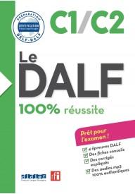 DALF 100% reussite C1/C2 książka + płyta MP3