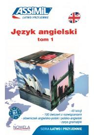 Język angielski łatwo i przyjemnie książka tom 1 + zawartość online