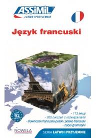 Język francuski łatwo i przyjemnie książka + zawartość online