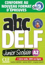 ABC DELF A2 junior scolaire książka + CD + zawartość online ed. 2021