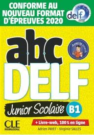 ABC DELF B1 junior scolaire książka + CD + zawartość online ed. 2021