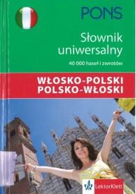 Słownik uniwersalny włosko-polski polsko-włoski