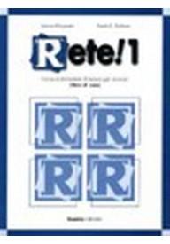 Rete 1 libro di casa ćwiczenia + CD audio