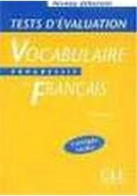 Vocabulaire progressif debutant Tests