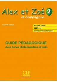 Alex et Zoe 2 przewodnik metodyczny Nowa edycja