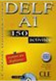 DELF A1 150 activites livre + CD gratis