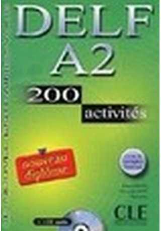 DELF A2 200 activites livre + CD gratis