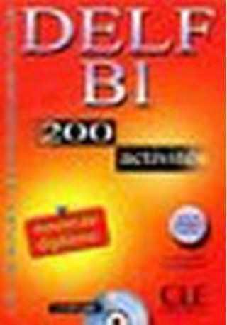 DELF B1 200 activites livre + CD gratis