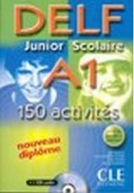 DELF junior scolaire A1 książka+klucz+transkrypcja+CD audio