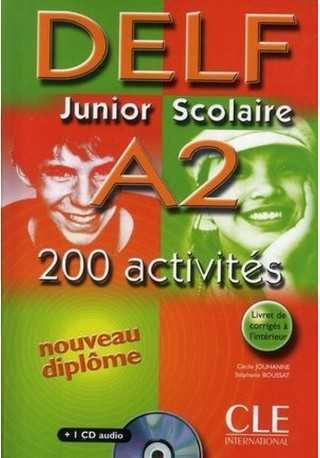 DELF junior scolaire A2 książka+klucz+transkrypcja+CD audio