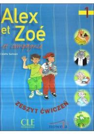 Alex et Zoe 1 ćwiczenia  /wersja polska/  + CD audio