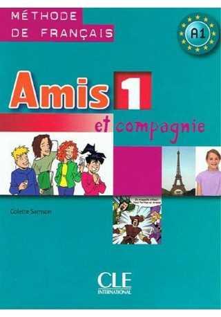 Amis et compagnie 1 podręcznik + płyta MP3