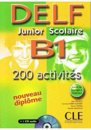 DELF Junior Scolaire B1 książka+klucz+transkrypcja+CD audio