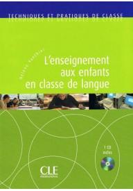 Enseignement aux enfants en classe de langue + CD