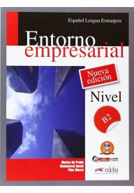 Entorno empresarial Nueva edicion poziom B2 podręcznik + CD