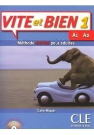 Vite et bien 1 podręcznik + CD audio
