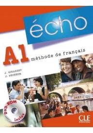 Echo A1 podręcznik + DVD