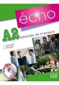 Echo A2 podręcznik + DVD