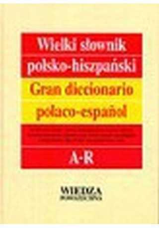 Słownik wielki polsko-hiszpański tom 1/2