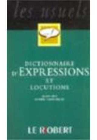 Dictionnaire poche d`expressions et locutions