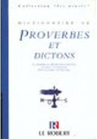 Dictionnaire usuels de proverbes et dictons