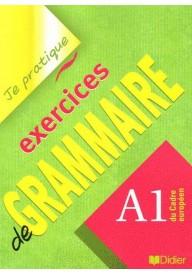 Je pratique exercices de grammaire A1