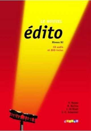 Edito Nowa edycja B2 książka + CD i DVD