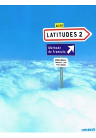 Latitudes 2 podręcznik A2/B1 + CD audio