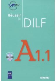 Reussir le DILF A1.1 livres + CD audio