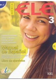 Agencia ELE 3 ćwiczenia + CD audio